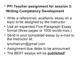 writing a high scoring exam essay or composition  12
