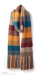 Striped Scarf Knitting Pattern Cool Inspiration