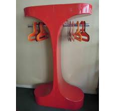 Red Coat Rack Sold Scandinavian style coat rack 61