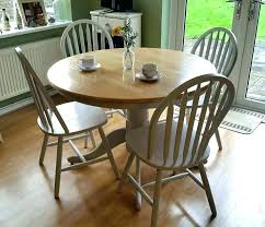 farmhouse style dining table kitchen and chairs round tables