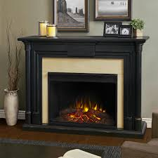 maxwell grand electric fireplace in blackwash by real flame com