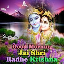 Good Morning Radha Krishna Images ...
