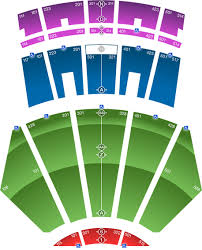 Seating Map Microsoft Theater