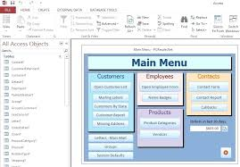 Microsoft Office Access Templates Ms Office Access Employee Database Template Sales Microsoft