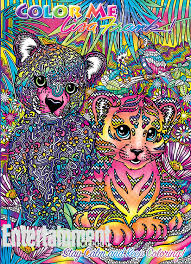 Small Picture Lisa Frank coloring books See the four Color Me Lisa Frank covers