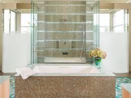 bathrooms. Neutral Spa Bathroom With Hydrangeas Bathrooms