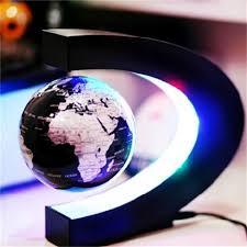 gift decoration magnetic levitation floating maglev globe world map desktop toys