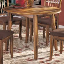 Ashley Kitchen Furniture Ashley Furniture Berringer Hickory Stained Hardwood Round Drop