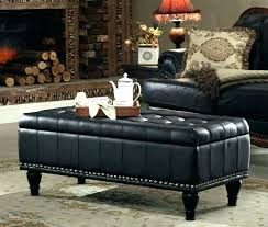 round leather ottoman coffee table top furniture
