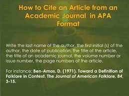 Ppt How To Cite Sources In Apa Format Powerpoint Presentation Id