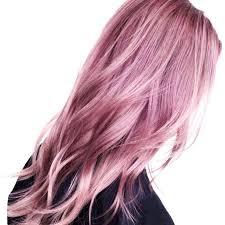 Dusty Rose Hair Trend