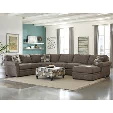 brown sectional sofas. Fine Sofas Brown 4 Piece Sectional Sofa With RAF Chaise  Orion Inside Sofas