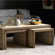 photo of nesting coffee tables barlow nesting tables set of 3