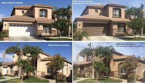 exterior house painting by painting contractors phoenix arizona