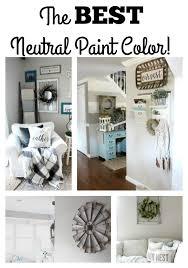 the best neutral paint color