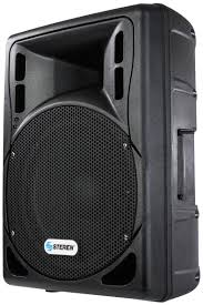 speakers loud. steren pa loud speaker with integrated amplifier and 3000 watts of pmpo power speakers