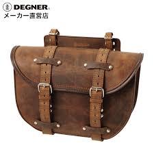 motorcycle saddlebags leather brown sb 46 degner degner