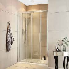 1200mm single sliding shower door 8mm glass with
