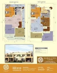Bahria Town Karachi House Design Floor Plan Of 200 Square Yards Bahria Homes Bahria Town