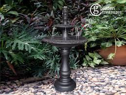 garden treasures 34 6 in h metal tiered