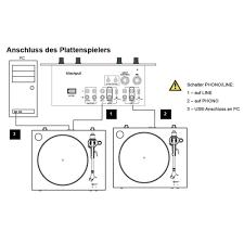 usb turntable dual dt 400 usb belt drive black from conrad com usb turntable dual dt 400 usb belt drive black