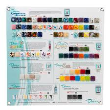 Duncan Ceramic Paint Color Chart