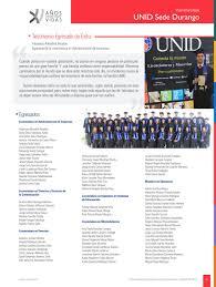 Egresados 2015 by RedUNID - issuu