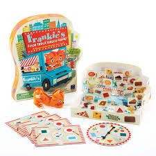 Design And Drill Brightworks Australia Learning Resources Frankies Food Truck Fiasco Shapes Game