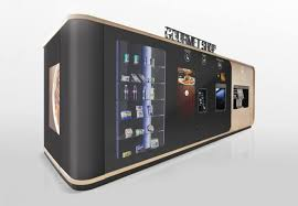 Premium Gourmet Coffee Vending Machine Classy Gourmet Vending Machine Wins 48 Red Dot Award Great Designs