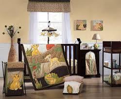 pretty sets of baby lion king nursery decor
