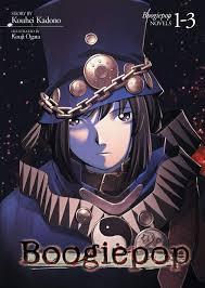 Durarara Light Novel Amazon Amazon Com Boogiepop Omnibus Vol 1 3 Light Novel