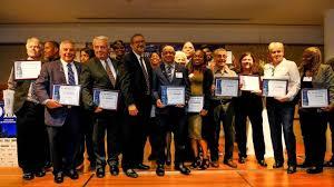 celebrating the building service worker award winners