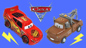 disney cars 3 toys color change mater piston cup series cast unboxing lightning mcqueen