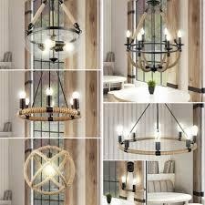 Pendel Decken Led Lampen Kronleuchter Leuchten Filament Seil