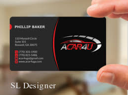 189 Modern Upmarket Automotive Business Card Designs for a ...
