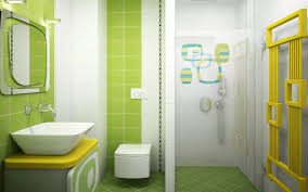Kids Bathroom Tile Yellow Bathroom Tile Zampco