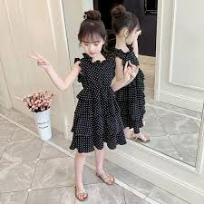 <b>Girls</b> ' Summer <b>clothes 2019 new children's dress</b> foreign gas ...