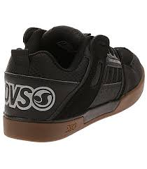 Dvs Size Chart Shoes Dvs Comanche 2 0 Black Gum Nubuck Men S