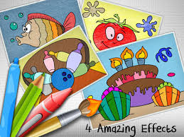 screenshot 1 for coloring world 4 kids first educational colouring book for pre children