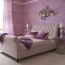 34 Gorgeous Tufted Headboard Design Ideas & ... Violet walls and lovely decor enhance the beauty of this bed with tufted  headboard Adamdwight.com