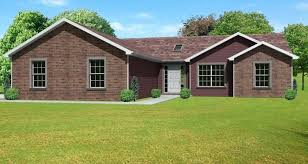 ranch houses simple homes of south style house plans with walkout basement awesome brick plan 3