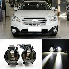2013 Subaru Outback Fog Lights Us 58 0 20 Off 3 In 1 Functions Auto Led For Subaru Outback 2013 2016 Drl Daytime Running Light Car Projector Fog Lamp With Yellow Signal In Car