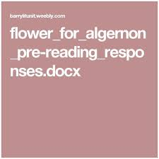 Flowers For Algernon Quotes Magnificent Flowers For Algernon Quotes 48 Best Ideas About Flowers For Algernon