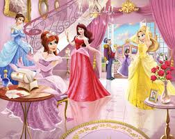 walltastic fairy princess wallpaper mural