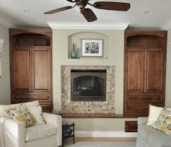 i painted my built ins centsational girl fireplace ideas with windows on each side fireplace wall ideas with windows