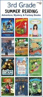 3rd grade summer reading list ages 8 9