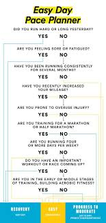 Muscle Recovery Time Chart Recovery Run How Fast Should I Run On Easy Days