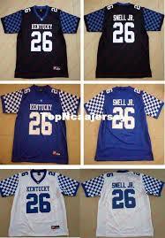 Kentucky Jersey Blanco Camisetas Xs Benny College Snell Hombre Wildcats Costura Para 26 18 Jr 6xl Azul Compre De Negro Nuevo 2017 Tamaño Barato