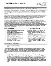 Sample Resume Software Developer Sample Resume For One Year ...