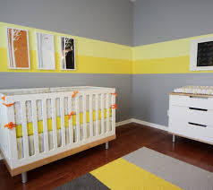 Soothing stripes for a kid's room.and great color combination